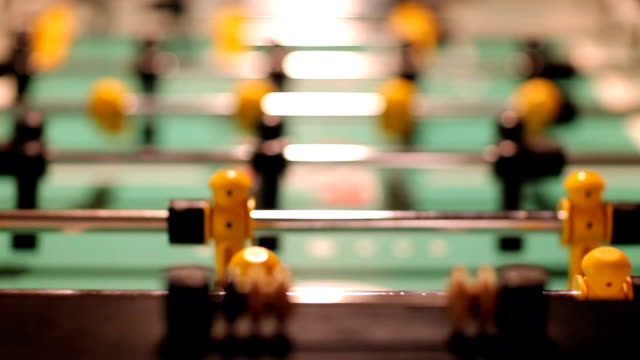 Black and Yellow Foosball Game video