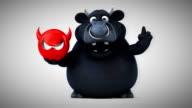 Black bull - 3D Animation video