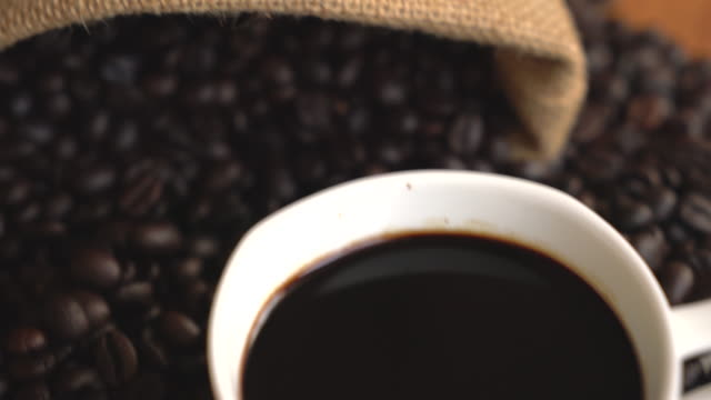 black coffee video