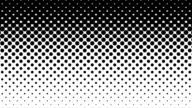 Black Dots Pattern on White Background. video