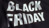 Black Friday Loopable Animated Banner - 4K video