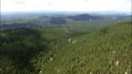 Black Hills National Forest  - Aerial View - South Dakota, Custer County, United States video