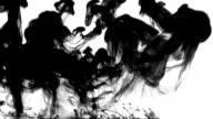 Black Ink Drop Explosion video