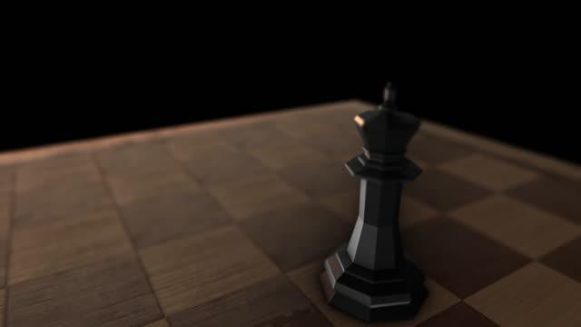 Black King piece video