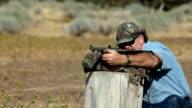 Black powder rifle practice video