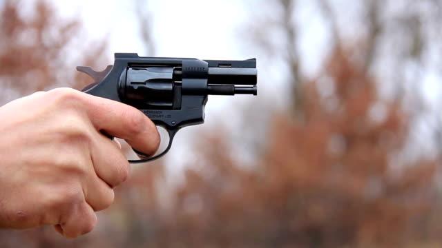 Black revolver video