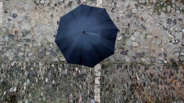 Black Umbrella Rotating video