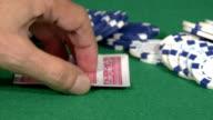 Blackjack Hand video
