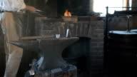 Blacksmith and anvil video