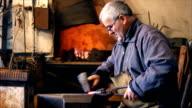 Blacksmith at work video