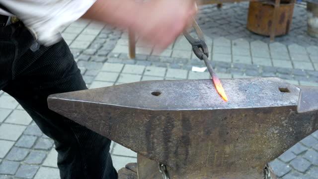 Blacksmith Hammers Iron video