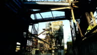 Blast Furnace At Old Metallurgical Plant video