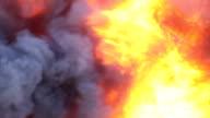 Blazing Fire Background video