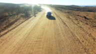 Blazing through the Namibian Desert video