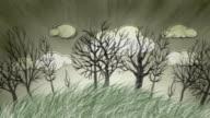 Bleak Autumn Trees video