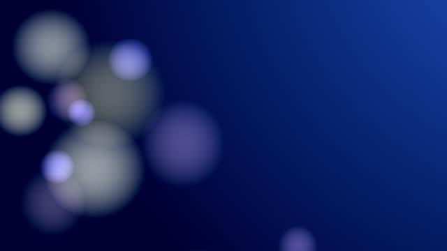 Bllured Lights Background Loop (Blue) video