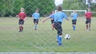 Blocking a Goal in Soccer video