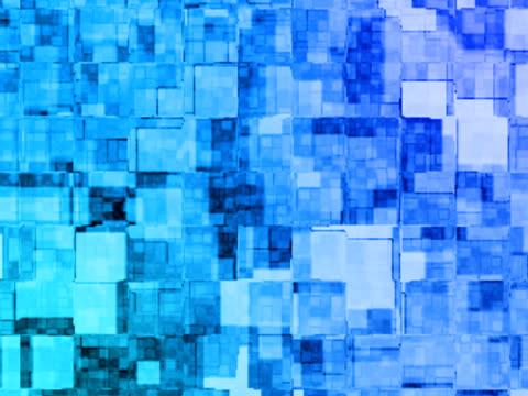 Blocks - background pattern animation. video