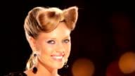 Blond girl Hostess video