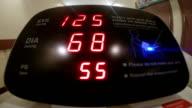 Blood pressure measurement with a digital blood pressure monitor video