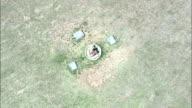 blood river memorial - Aerial View - KwaZulu-Natal,  South Africa video