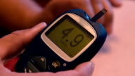 Blood sugar level test at home video