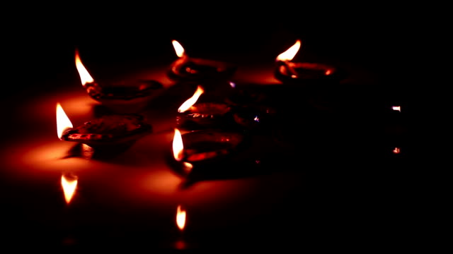 Blow out oil lamps video