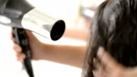 Blowdrying Hair video