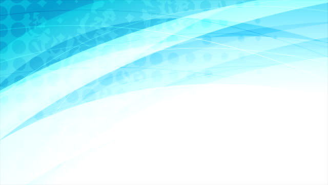 Blue abstract corporate grunge waves video animation video