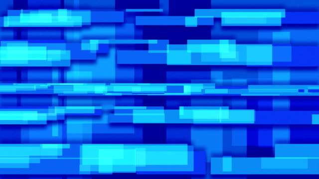 blue abstract loopable background rectangles video