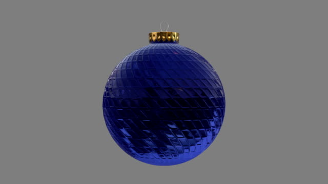Blue Bauble Christmas Ornament video