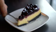 blue berry cheese cake video