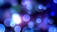 Blue Bokeh Background video