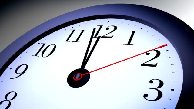 blue clock video
