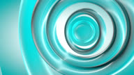 (Loop)  Blue Curves Abstraction-HD background animation video