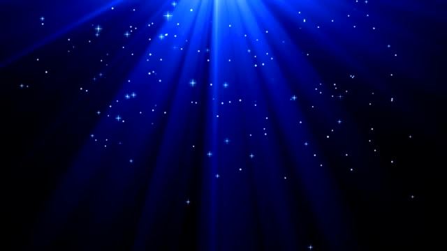 Blue Deep Light Rays With Star video