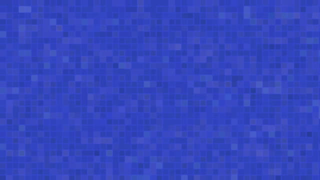 Blue digital noise signal video