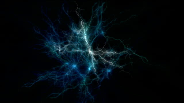 Blue Electrical discharge video