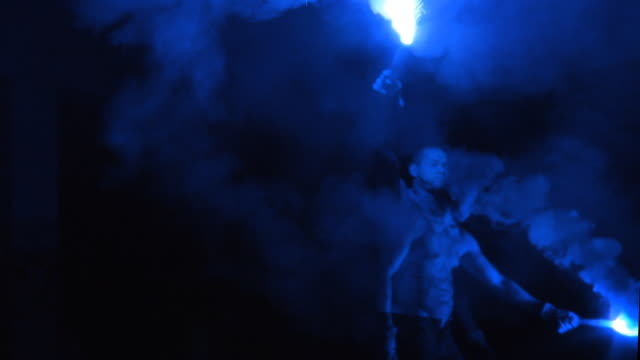 Blue Firework Boy video