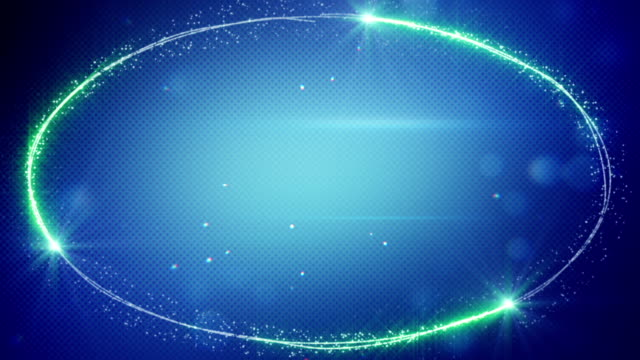 blue futuristic frame loopable background video