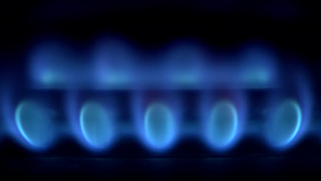 Blue Gas Flame video