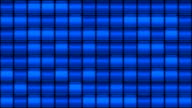 Blue Glass Square Background Loop video