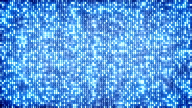 Blue glitter dots loopable background video
