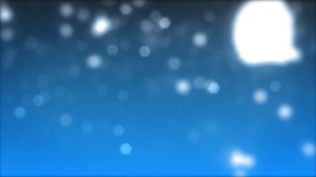 Blue Glitter video