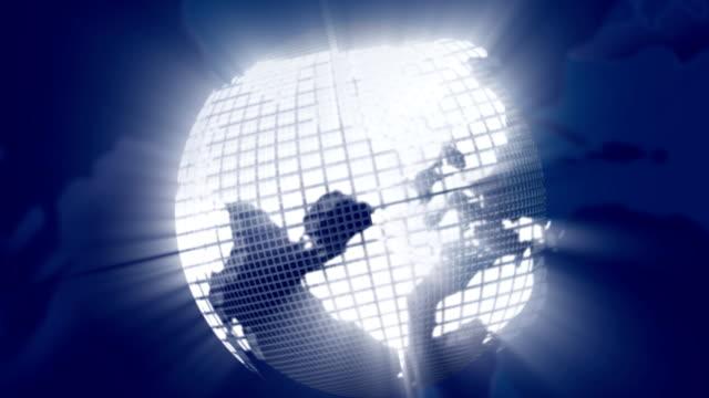Blue Globe video