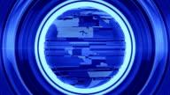 Blue Glossy Globe video
