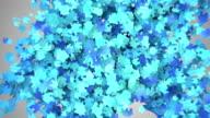 Blue Home Symbol Icon video