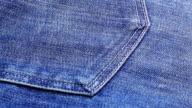 Blue jeans cloth background, sliding video video