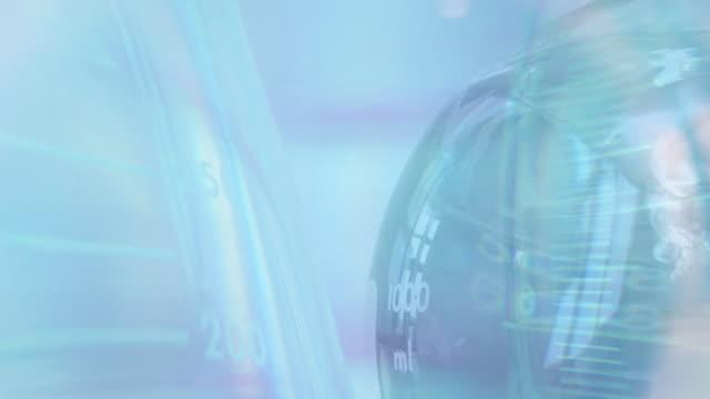Blue Laboratory Background video