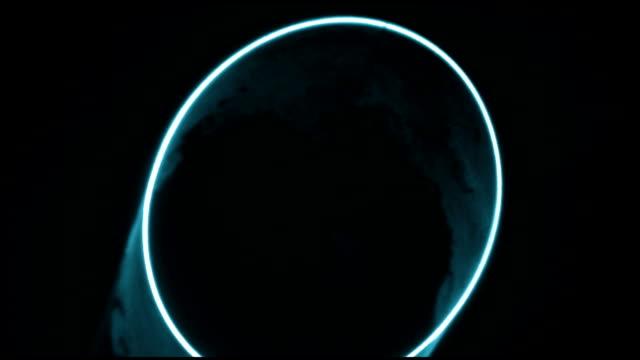 Blue Laser Circle video